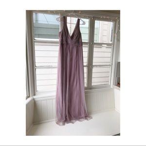 BHLDN Maxi Tulle Dress